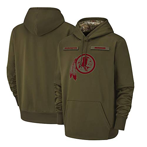 NFL Washington Redskins Hoodie Sweatshirts American Football Hooded Sweatshirt Pullover Men and Women Long Sleeve Sport Clothing