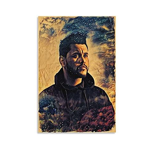 The W.e.e.k.n.d XO Starboy Poster Stampa The Weekend Trilogy Rap Rock Hip Hop DJ (37) Stampa artistica su tela e Wall Art Stampa Stampa Moderna Camera da Letto Famiglia Poster Decor 60 × 90 cm