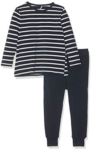 NAME IT Jungen NMMNIGHTSET YD NOOS Zweiteiliger Schlafanzug, Mehrfarbig (Dark Sapphire Dark Sapphire), (Herstellergröße: 110)