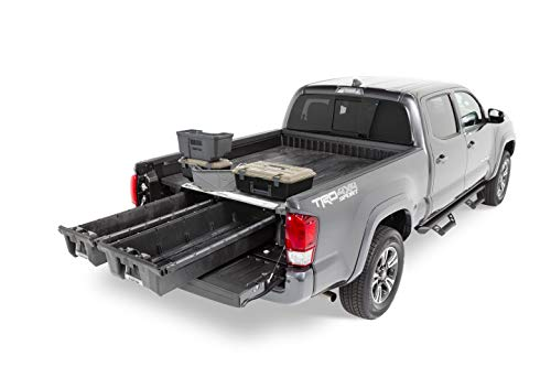 DECKED Toyota Truck Bed Storage System Includes System Accessories |