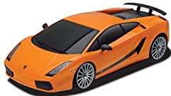 REALISTIC: This RC car has an ultra-detailed exterior, rims and tires with a glossy finish topcoat. EASY TO MANEUVER: Full function radio control allows you to take corners with ease and move in all directions: forward, reverse, stop, left and right....