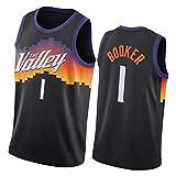 2021 suns all team jerseys, booker payne saric black city edition the valley sportswear, chaleco de malla cómodo y transpirable