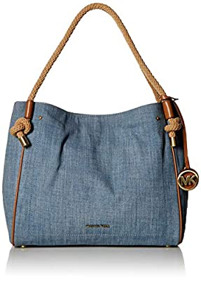 MICHAEL Michael Kors Isla Large Grab Bag Admiral One Size