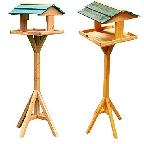 Vogelhaus aus Massivholz, mit Dach, traditionelles Design