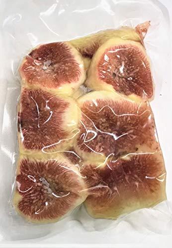 国産冷凍いちじく(徳島または和歌山産) 250g 【消費税込み】徳島または和歌山産 完熟いちじく の皮をむき、カットしています。