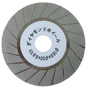 ニシガキ バリカン研磨機用 園芸用刃物研磨機 替ダイヤモンド砥石 厚み0.8mm 取寄品 N-840-1