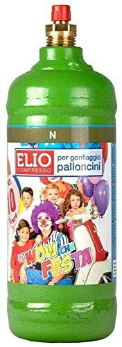 REPLOOD Bombola Gas Elio per 10 Palloncini Multicolore Festa Party Compleanno Laurea Matrimonio Battesimo Nascita