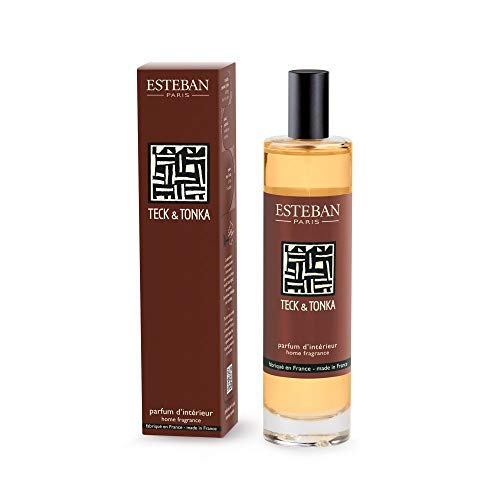ESTEBAN Spray Ambienti Casa 75 ml Profumo Teck & Tonka