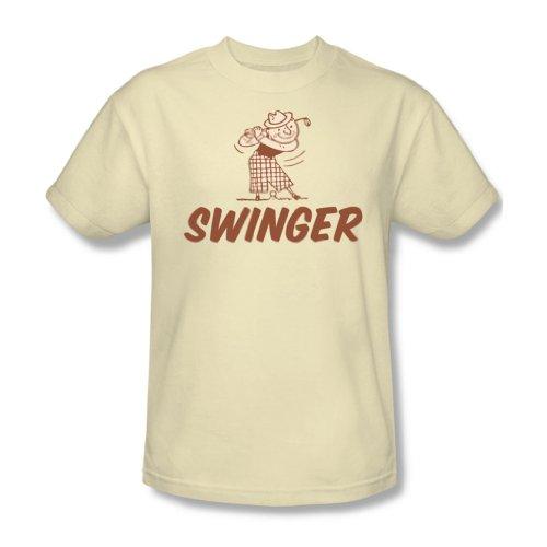Swinger - Männer T-Shirt in der Creme, XXX-Large, Cream