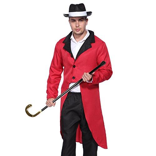 para Hombre Ringmaster de Circo León Disfraz de domador Ciervo ...