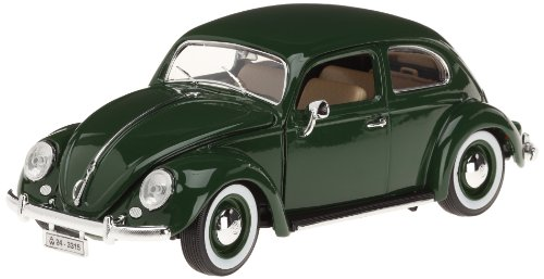Bburago - 12029be - Coloris aléatoire - Véhicule Miniature - Modèle À L'échelle - Volkswagen Kafer Beetle - 1955 - Échelle 1/18