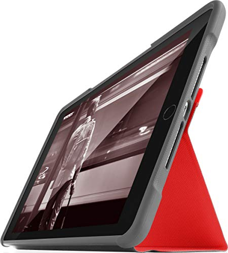 Funda Resistente para Apple iPad de 5ª generación de 9,7 Pulgadas, de STM Dux Rosso Talla única