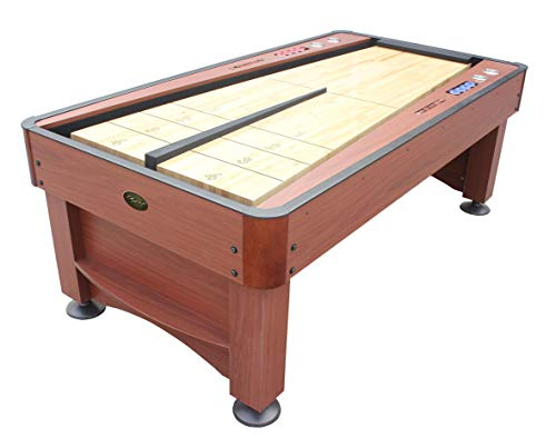 Discover Bargain Playcraft Switchback 7' Shuffleboard Table, Cherry