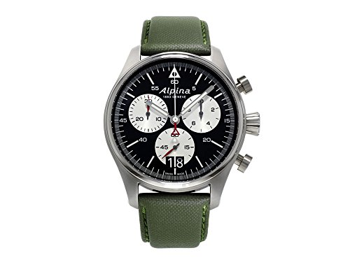 Alpina Geneve Startimer Pilot Cronografo uomo Orologio aviatore