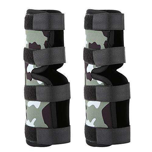 Yisentno Klett-Hundebein-Klammer, Hundebein-Schutz, zum Einwickeln des Hundes(Camouflage, S)