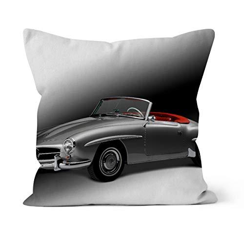 fotobar!style Motivkissen 30 x 30 cm mit Füllung Mercedes Benz 190 SL - Bj. 1954