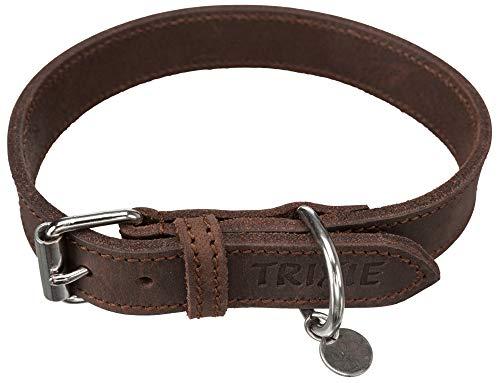 TRIXIE 19006 Rustic Fettleder Halsband, 93.12 g