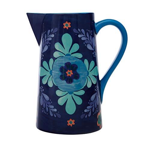Maxwell & Williams Majolica Caraffa per Acqua con Disegno Floreale in Confezione Regalo, Ceramica