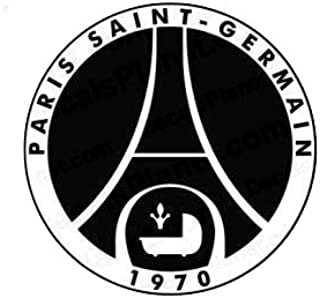 Maple Enterprise PSG Paris Saint-Germain Football Club Logo Vinyl Decal Sticker for Laptop car