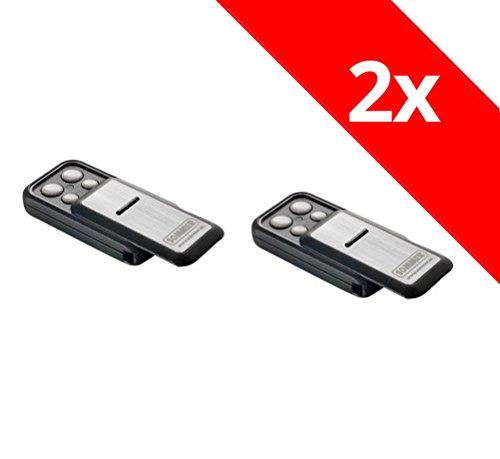2 x Sommer Handsender Slider+ Slider S10305 TX40-868-4 Funksender Garagentor Fernbedienung 868,8 Mhz 868,95 Mhz Base+ Pro+ Torantrieb