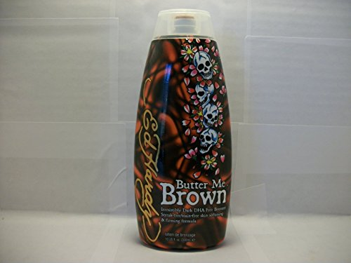 ED HARDY Butter Me Brown DHA FREE Streak & Stain Free Bronzers 10oz
