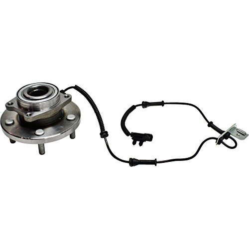 Wheel Hub and Bearing compatible with 2008-2018 Dodge Grand Caravan Front Left or Right FWD With ABS Sensor