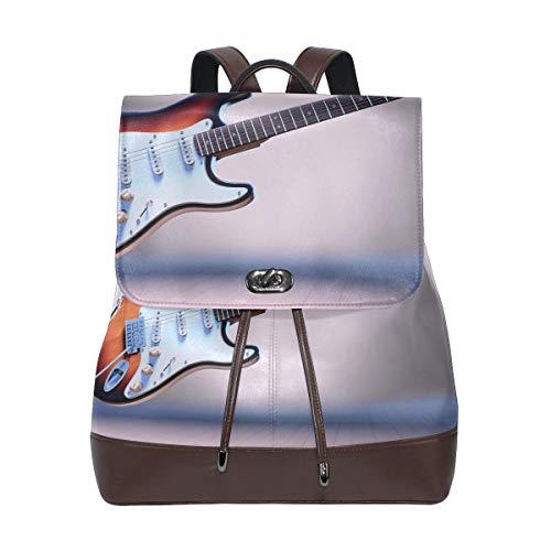 DEZIRO elektrische gitaar patroon schooltas rugzak
