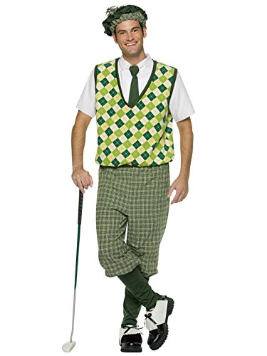 Rasta Imposta Mens Old Tyme Golfer, Green, Larger
