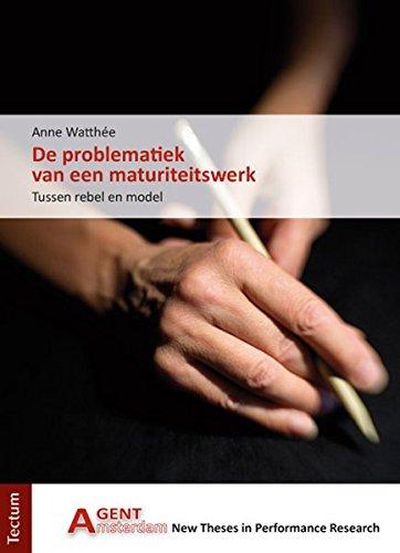 De problematiek van een maturiteitswerk: Tussen rebel en model (AGENT)