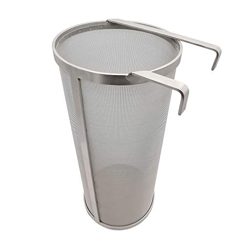 Hop Hopper Spider Strainer Basket Filter for Homebrew Hops Beer & Tea Brewing Bucket Fermenter...