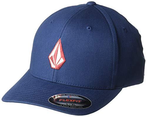 Volcom Damen Herren Full Stone Xfit Flex Fit Hat - Blau - S/M