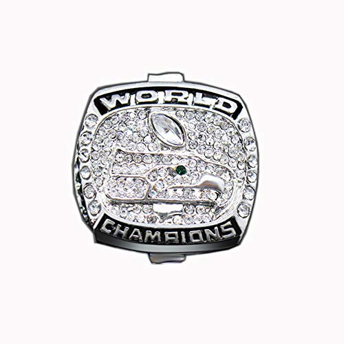 Fei Fei NBA 2005 Spurs Championship Ring Anillos de Hombre, Championship Anillo de réplica Personalizado Anillos de Diamantes para Hombres,with Box,11