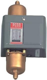 Johnson Controls P74JA-2C Penn Series P74 Differential Pressure Control, Floating SPDT Switch, 8-60 Differential psig, 2.5 Fixed Differential Switch, 1/4