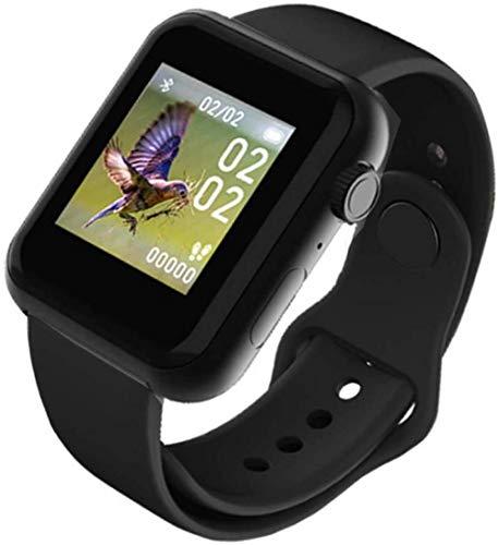 hwbq Monitor de actividad infantil, monitor de ritmo cardíaco, pantalla a color, reloj inteligente, pulsera inteligente IP67, resistente al agua