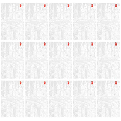 Doitool 50 Piezas Bolsas para Horno Tamaño de Pavo Paquete de Pollo Asado Bolsas Bolsas para Mascotas Resistentes Al Calor Bolsas de Cocina Blancas