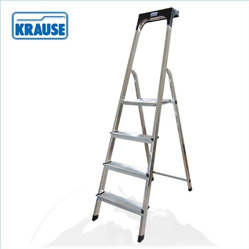 Krause - Escaleras - escaleras de tijera, los casquillos del pie antideslizantes para asiento seguro: Amazon.es: Bricolaje y herramientas