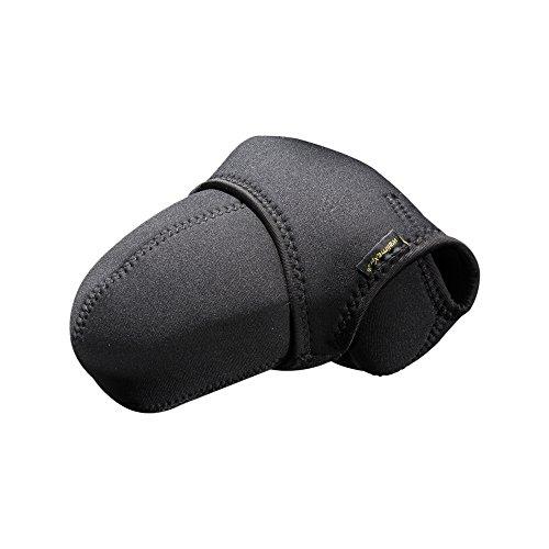 Walimex Pro Neopren Kamera-Schutzhülle (geeignet für DSLR-Kamera) schwarz/grau