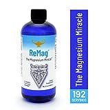 ReMag Magnesium - Magnesio liquido pico-ionico di RnA ReSet. Creato dal Dr. Carolyn Dean per un assorbimento completo, Prova The Magnesium Miracle, 480ml