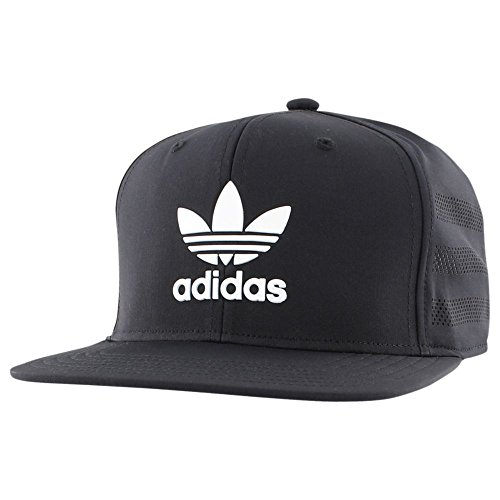 adidas Mens Originals Beacon II Snapback (Black/White)