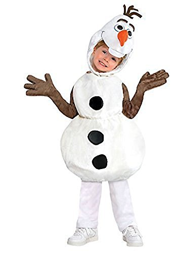 Disney Frozen Olaf Costume Snowman Disney Size 4 5 6 4-6T by Costume USA