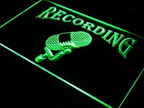 ADVPRO 販売実績No.1 Recording On The Air Radio Microphone Studio Bar LED お歳暮 Beer