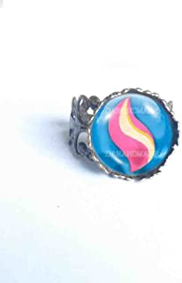 Handmade Anime Mewtwonite X Mega Stone Brooch Badge Pin Mewtwo Cosplay Fashion Jewelry