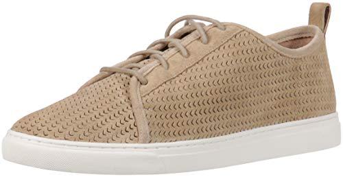 Lucky Brand Women's Lawove Sneaker, Travertine, 8 Medium US