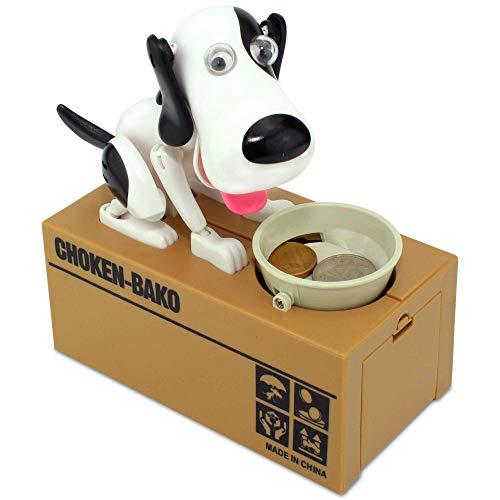 Elektronische Automatische Spardose Sparbüchse - Tiere Stehlen Klauen Münzen (Hund)