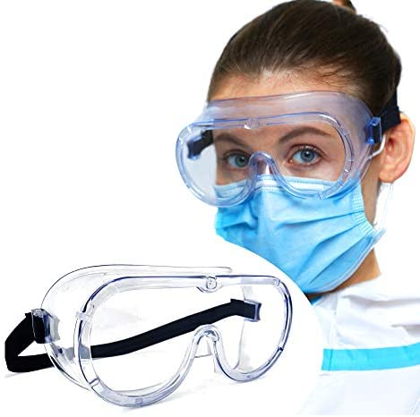 Medical Safety Goggles FDA Registered Anti Fog Eye Protection Protective Goggles Splash Proof product image