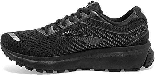 Brooks Ghost 12 Black/Grey 5 B (M)