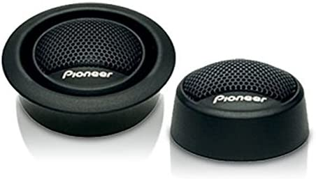 """Pioneer TS-T15 240W Peak 3/4"""" 4 ohms Flush and surface mounting capabilities Soft Dome Car Audio Stereo Speaker Tweeters"""