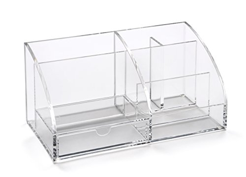Osco AD01 - Organizador de despacho (acrílico), transparente