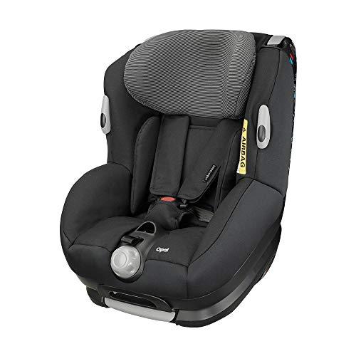 Bébé Confort Opal, Siège Auto Réglable dos à la Route et Évolutif de Groupe 0+/1 de 0 à 4 ans, 0-18kg, Black Raven