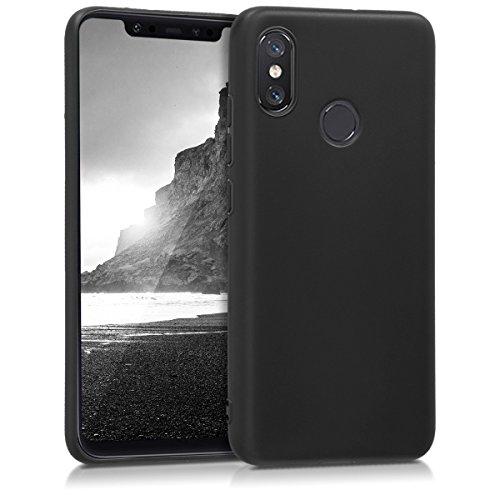 kwmobile Hülle kompatibel mit Xiaomi Mi 8 - Hülle Handyhülle - Handy Hülle in Schwarz matt